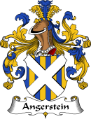 German Wappen Coat of Arms for Angerstein