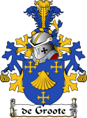 Dutch Coat of Arms for de Groote
