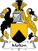 English Coat of Arms for Molton