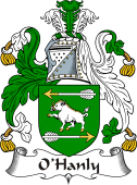 Irish Coat of Arms for O'Hanly