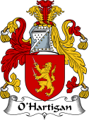 Irish Coat of Arms for O'Hartigan